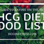 Original HCG Diet Food List – 500 Calorie Menu