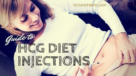 HCG Diet Injections Guide - How to for sub cutaneous shots