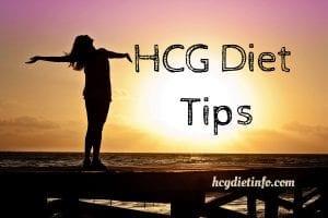 Tips for HCG Dieters