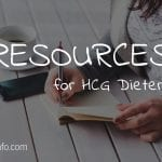 HCG Diet Resources