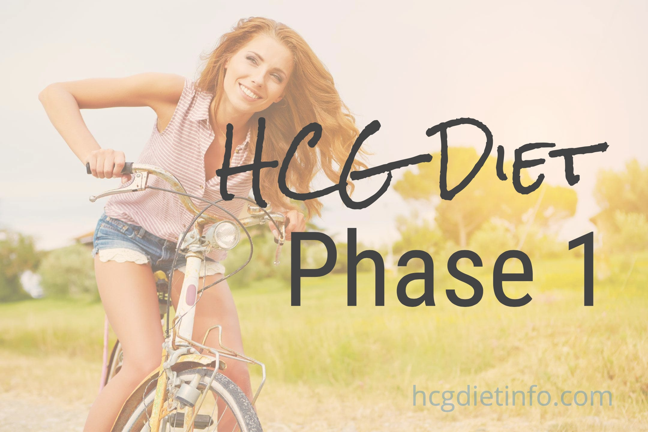 HCG Diet Phase 1 Loading Phase