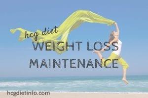 Hcg Weight Loss Maintenance Programs - Phase 4 Hcg Diet Maintenance
