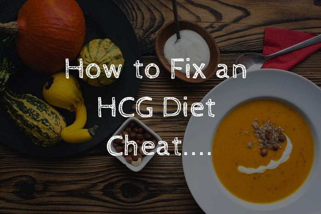 How to Fix an HCG Diet Cheat