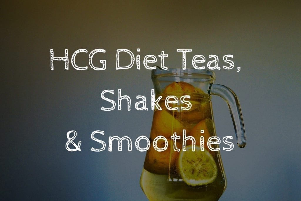 HCG Diet Teas, Shakes and Smoothies