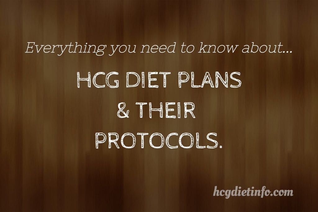 All about HCG Diet Plans and their Protocols