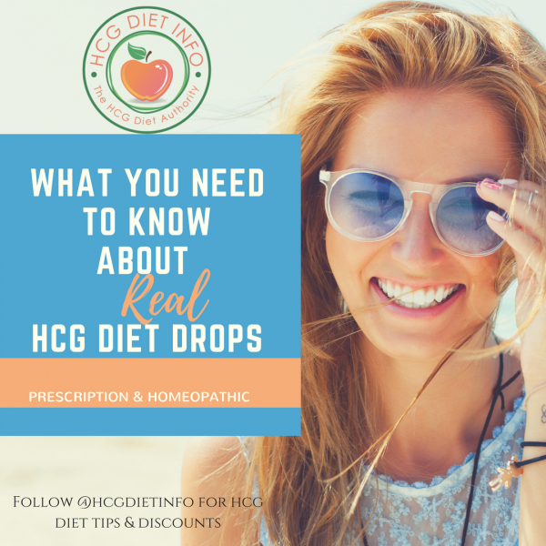 About REAL hcg diet drops - prescription and homeopathic