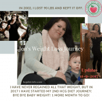 Jen's Hcg Diet Journey Before and After Pics and Progress Report