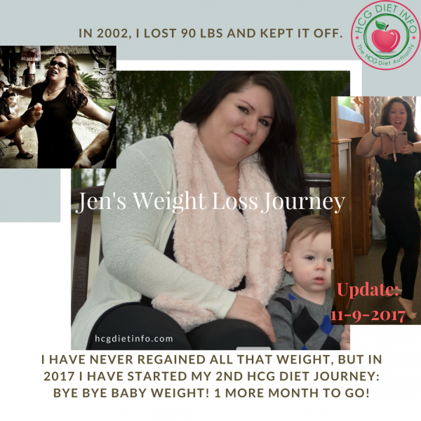 Jen's Hcg Diet Before and After Pics