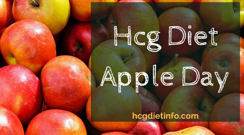 Hcg Diet Apple Day for Stalls