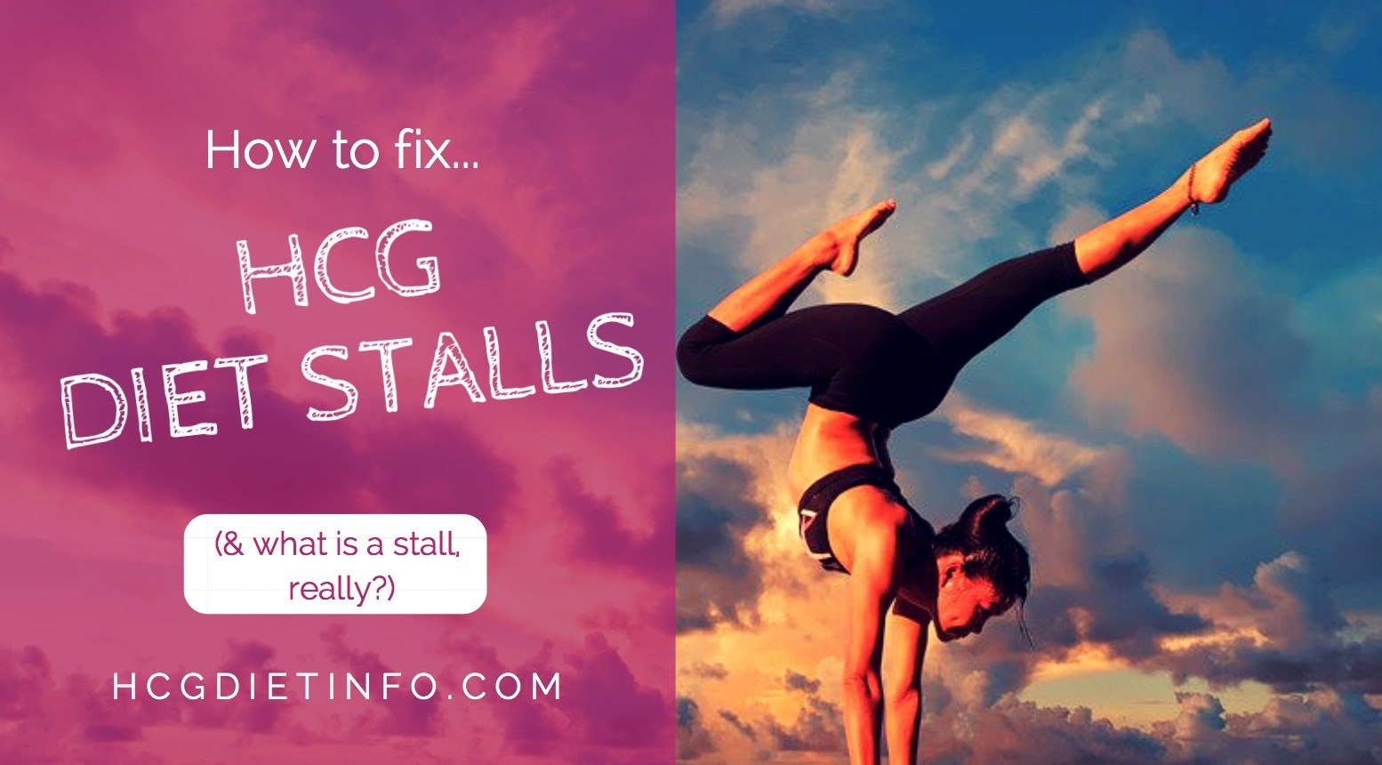 Hcg Diet stalls and plateaus - what is, and how to fix