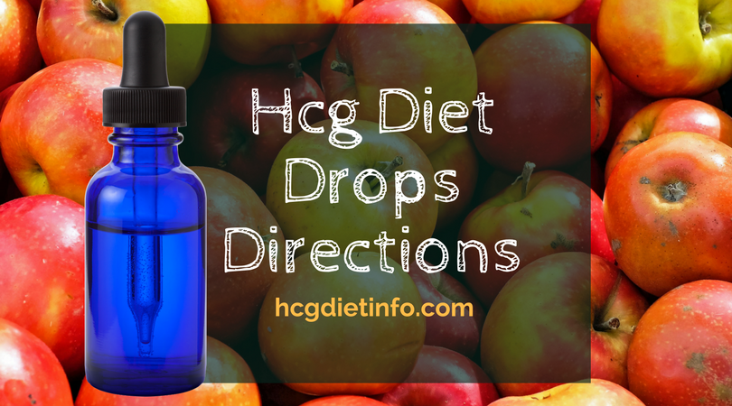 Hcg Diet Drops Directions