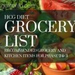 Hcg Diet Grocery List - Ultimate Shopping List
