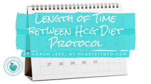 Time Between Rounds: Hcg Diet Plan