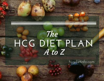 The hcg diet plan a to z