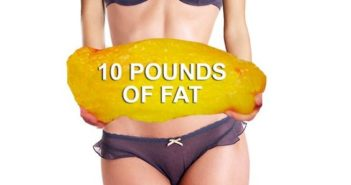 10 Pounds of Body fat looks like this