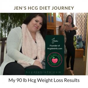 Jen's Hcg Diet Journey Results