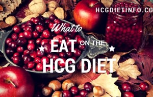 What to Eat on the HCG Diet