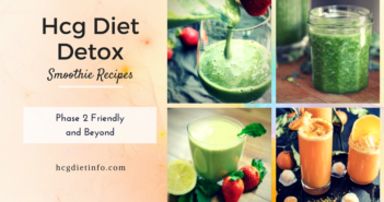 Hcg Diet Detox Smoothie Recipes