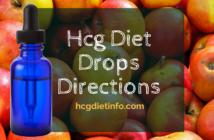 Hcg Diet Drops Directions