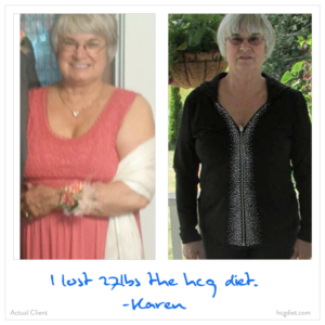 Hcg Diet Success Stories - 27 pounds lost - Karen