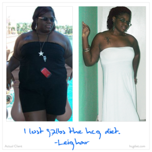 Leigher Success Stories - Lost 92 pounds on Hcg Diet