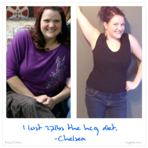 Hcg Diet Chelsea Success Story - lost 27 pounds