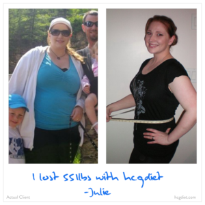 Hcg Diet Success Story - 55 pounds lost - Julie