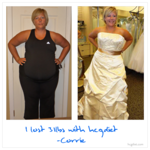 Hcg Diet Success Story - 31 Pound Loss Corine - Wedding