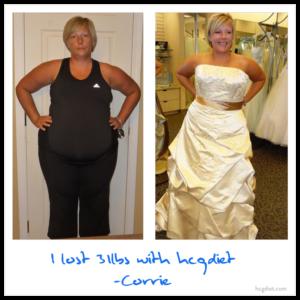 Hcg Diet Success Story - 31 Pound Loss Corine - Wedding
