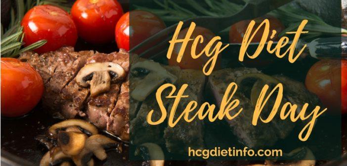 Hcg Diet Steak Day Guide