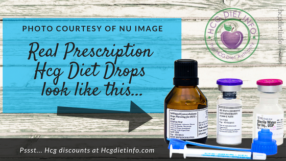 What prescription oral Hcg look like: nu image label