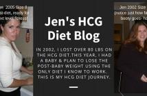 Jen's HCG Diet Blog