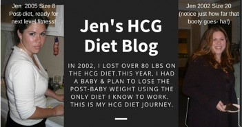 Jen's Hcg Diet Blog and Journey - My Success Story Before and After Photos