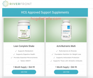 Step 3.2 Riverfront - Shakes and Vitamins