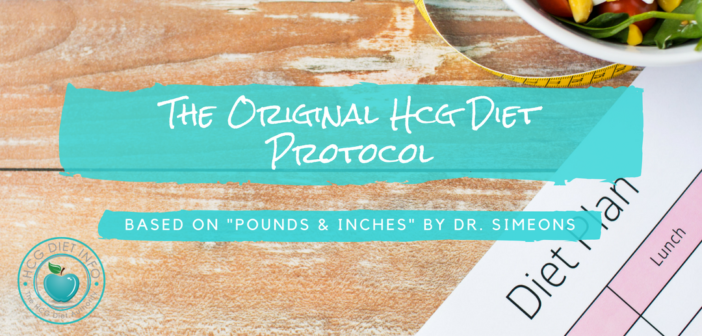 Original Hcg Diet Protocol-Plan