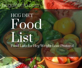 Hcg Diet Food List - Expanded List of Allowed Foods