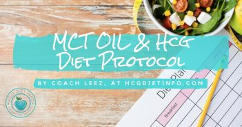 Hcg Diet Protocol and MCT Oil