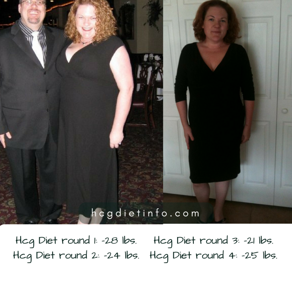 hcg diet results: 4 rounds progress averages