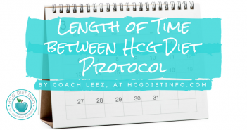 Time Between Rounds: Hcg Diet Plan